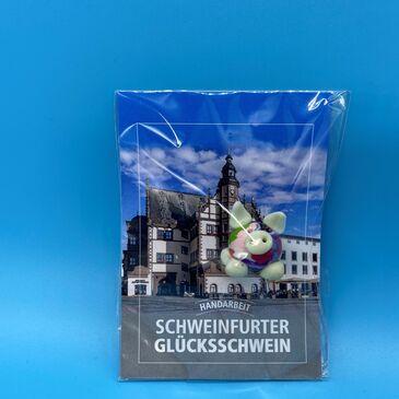 Glücksschweinchen mit Schweinfurter Rathaus 2,00 EUR