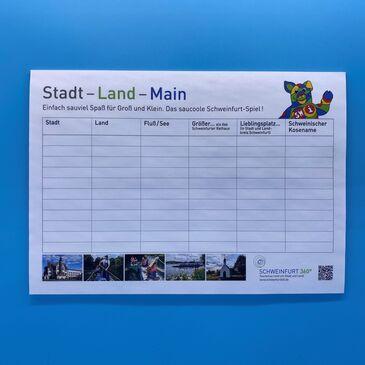 Stadt-Land-Main Spieleblock DIN A4/A5 ab 1,50 EUR
