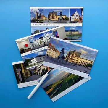 Postkarten_Grußset_Schweinfurt